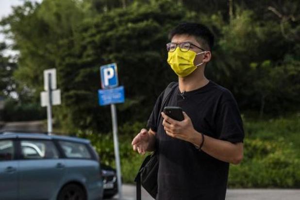 """Hongkongse activist Wong belooft """"strijd niet te stoppen"""" na veroordeling"""