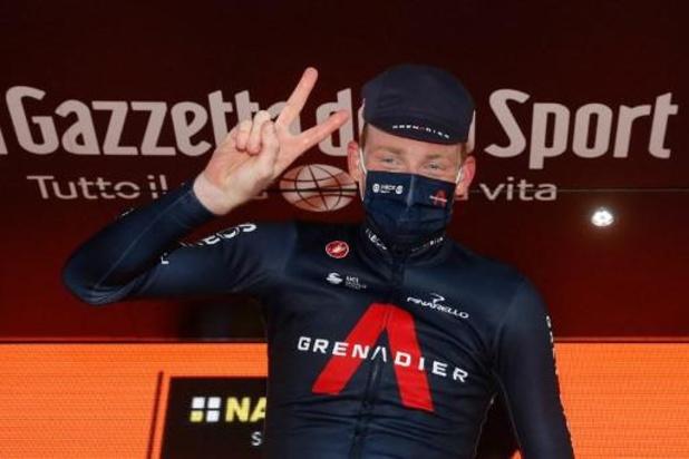 """Tour d'Italie - """"Le chrono final sera une question de jambes"""", pense Tao Geoghegan Hart"""