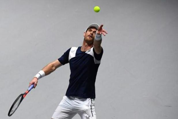 Davis Cup: Murray zwoegt, maar helpt Britten uiteindelijk wel aan zege tegen Nederland