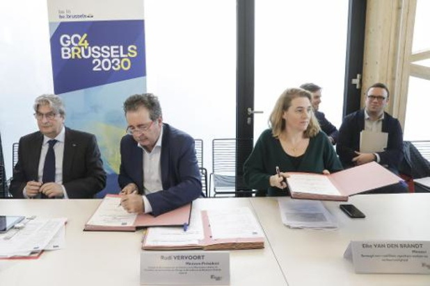 L'acte fondateur de la stratégie GO4Brussels 2030 est signé