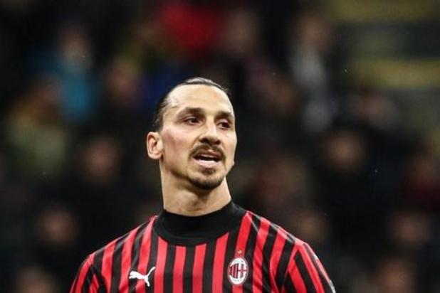 Une collecte de fonds lancée par Zlatan Ibrahimovic pour les services de santé italiens