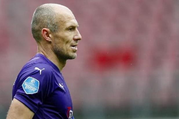 Arjen Robben, 37 ans, met un terme à sa carrière