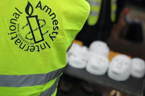 Amnesty remet une pétition à l'ambassade d'Égypte pour la libération de trois journalistes