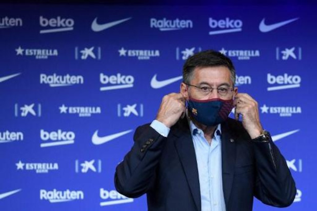 Feu vert au vote d'une motion de censure contre le président du FC Barcelone