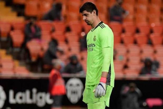 Belgen in het buitenland - Thibaut Courtois met Real Madrid hard onderuit bij Valencia