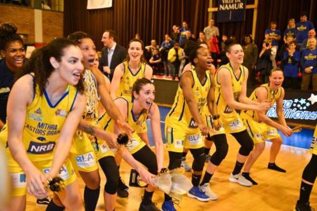 Le championnat de basket féminin ne reprendra pas, Castors Braine est champion