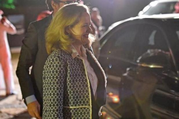 L'Espagnole Nadia Calviño, candidate à la présidence de l'Eurogroupe