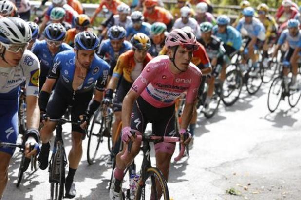 Tour d'Italie - Almeida compte garder le maillot rose jusqu'à la 15e étape