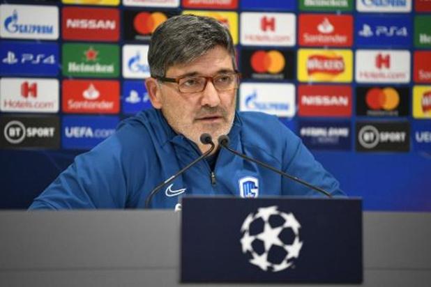 """Felice Mazzu (Genk): """"Les résultats ne sont pas bons mais je suis calme"""""""