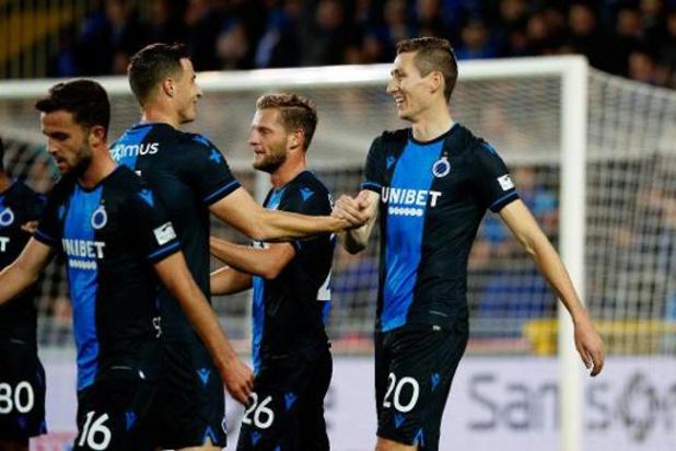 Jupiler Pro League - Club Brugge heeft geen enkele moeite met Kortrijk