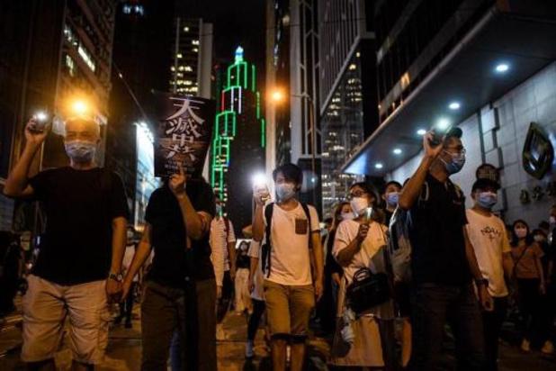 Hongkong: protestleiders ontbinden hun partij
