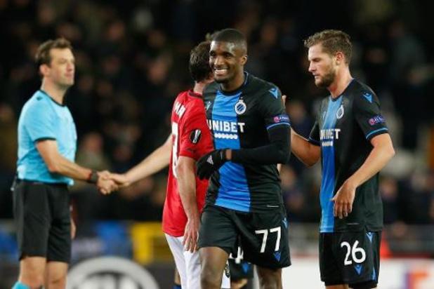 Geen incidenten na risicomatch Club Brugge-Manchester United