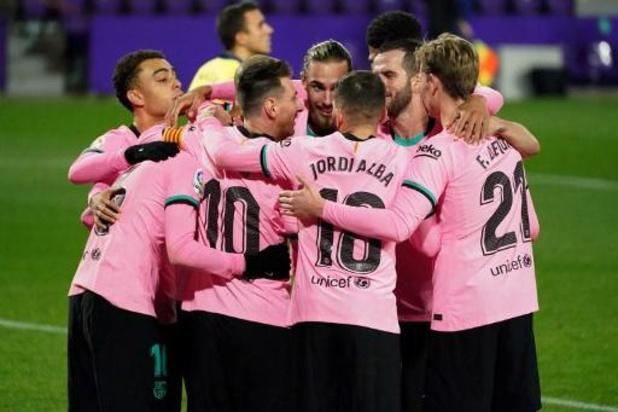 Barcelona-spelers testen negatief en kunnen opnieuw trainen
