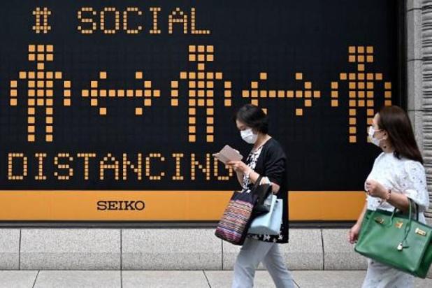 Voor het eerst sinds begin mei meer dan 50 nieuwe besmettingen in Tokio