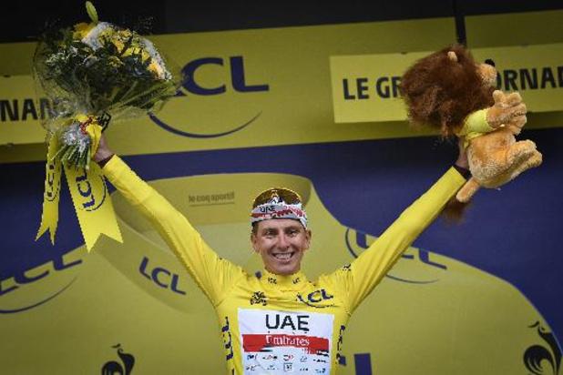 """Tour de France - Pogacar neemt leiderstrui over: """"Aanvallen is de beste verdediging"""""""