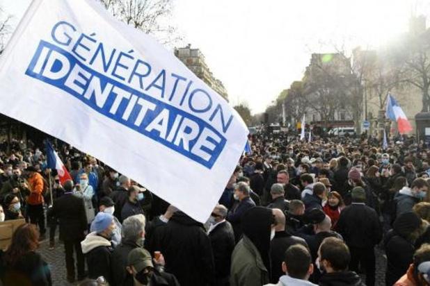 France: le groupe d'extrême droite Génération identitaire dissous