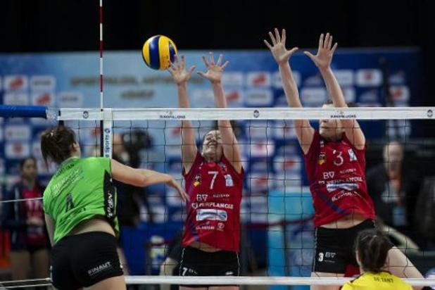 Blanco seizoen in nationale en promoreeksen volleybal