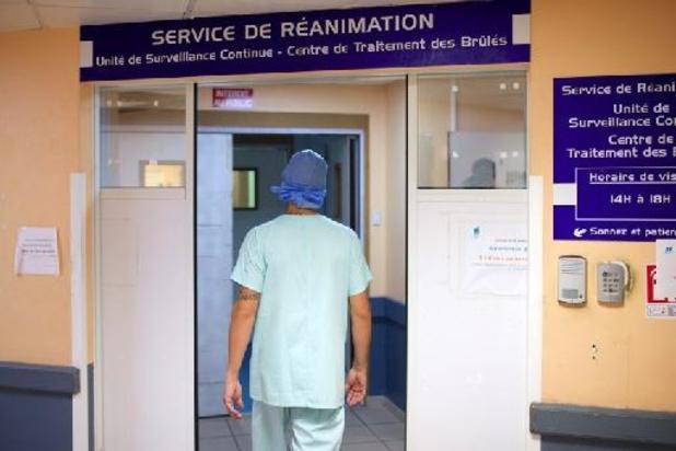 Près de 2.000 personnes en réanimation en France