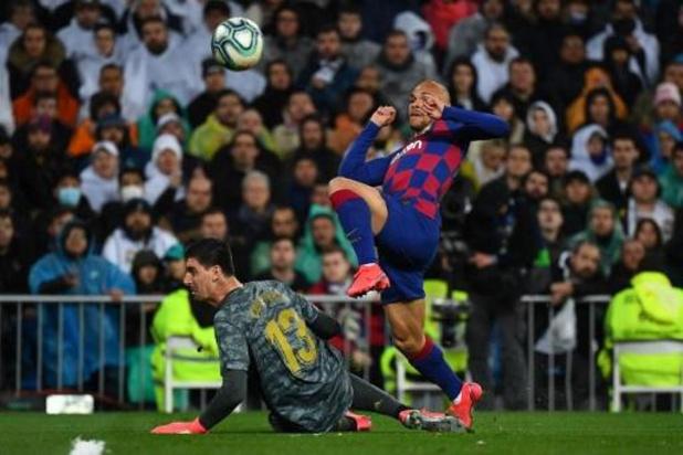 Belgen in het buitenland - Real Madrid komt als winnaar uit El Clasico