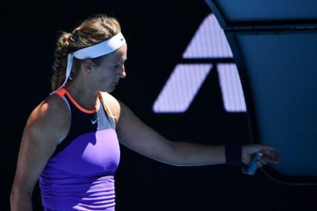 Tweevoudig winnares Azarenka sneuvelt in eerste ronde van Australian Open