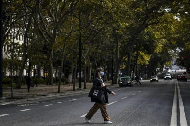 Portugal verplicht mondmasker op straat
