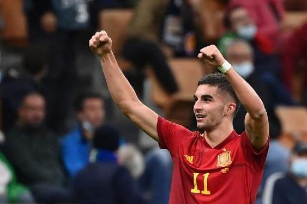 Ferran Torres (City) houdt voetbreukje over aan Final Four Nations League