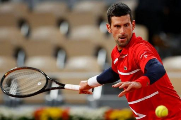Novak Djokovic se qualifie pour les quarts de finale de Roland-Garros