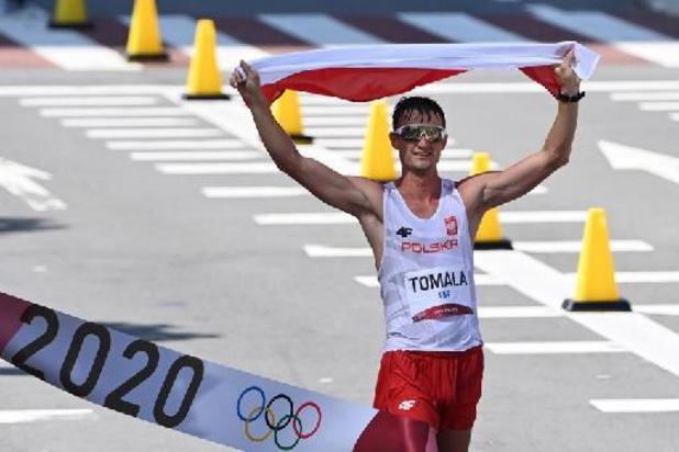 OS 2020 - Dawid Tomala pakt goud in 50km snelwandelen