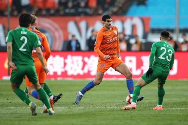 Belgen in het buitenland: Shandong Taishan en Fellaini moeten tevreden zijn met draw tegen Henan
