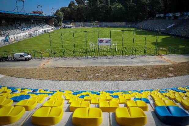 Union vat werken aan om stadion klaar te maken voor 1A