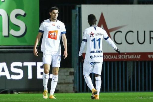 Jupiler Pro League - La Gantoise signe la première victoire en déplacement du week-end