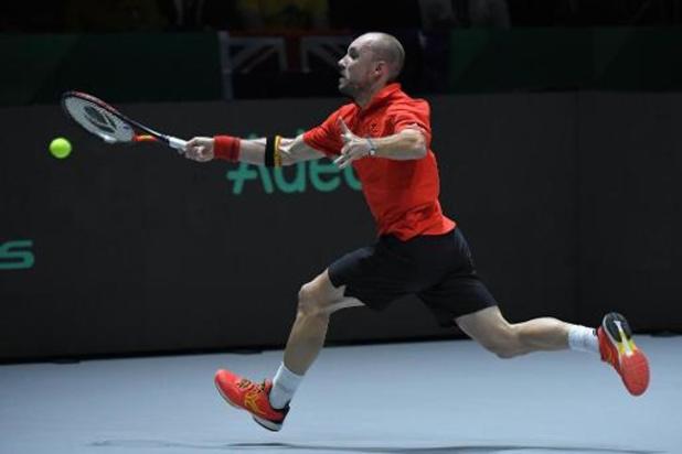 ATP Cup - Darcis opent met zege tegen Cozbinov