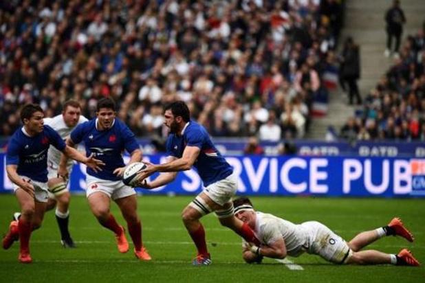 Six Nations - La France, pour la première de son nouveau sélectionneur Galthié, surprend l'Angleterre
