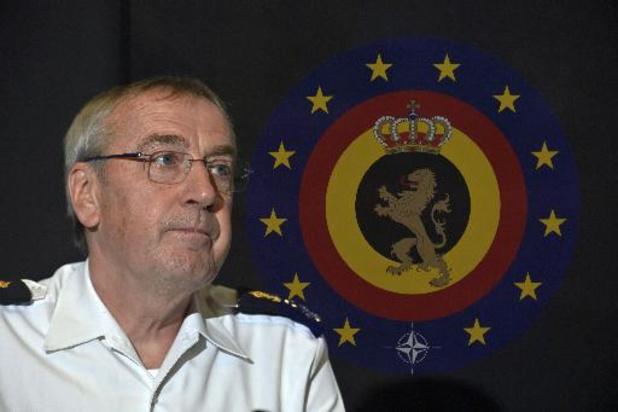 Le Chef de la Défense n'est pas favorable à la fusion du SGRS avec la Sûreté de l'Etat