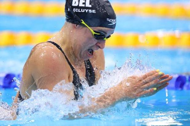 Fanny Lecluyse se qualifie en demi-finales du 200m brasse avec le 11e chrono aux JO