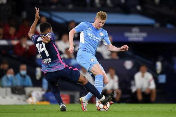 Manchester City, avec Kevin De Bruyne, remporte un duel dingue face à Leipzig