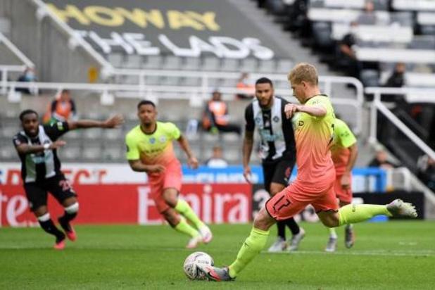 Les Belges à l'étranger - Kevin De Bruyne fête son anniversaire en envoyant Manchester City en demi-finale de la Cup