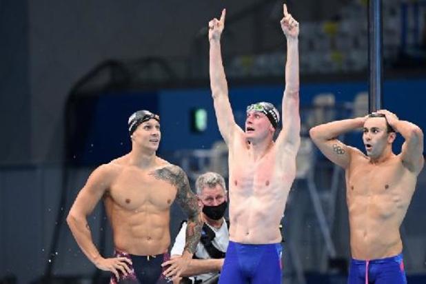 OS 2020 - Amerikanen winnen 4x100 meter vrije slag