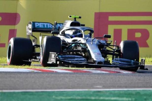 F1 - GP van Japan - Valtteri Bottas triomfeert in Suzuka, constructeurstitel voor Mercedes