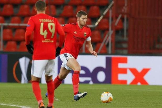 Les Belges à l'étranger - Benfica, avec Vertonghen, accroché à Moreirense