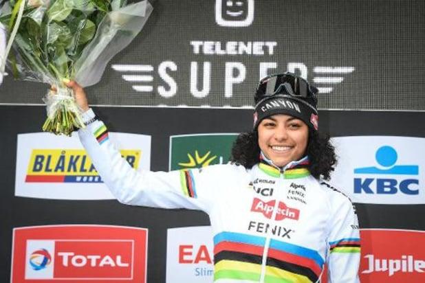 Wereldkampioene Alvarado wil WK mountainbike in juni rijden