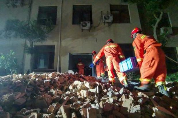 Effondrement d'un hôtel en Chine: 17 morts, selon un bilan définitif