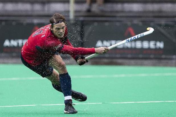 Belgian Men Hockey League - Le Dragons va s'imposer 0-1 à La Gantoise en match avancé de la 6e journée