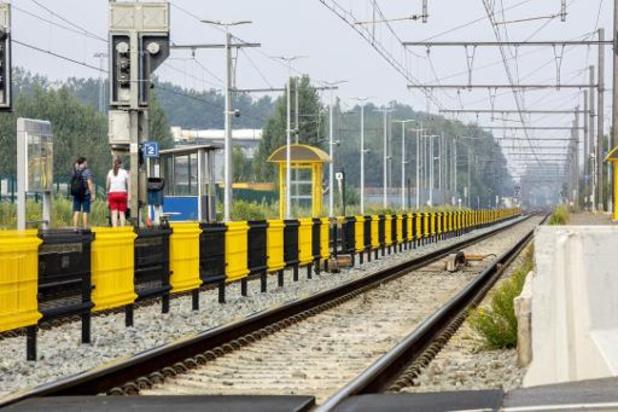Treinverkeer tussen Hasselt en Mol onderbroken door persoonsongeval