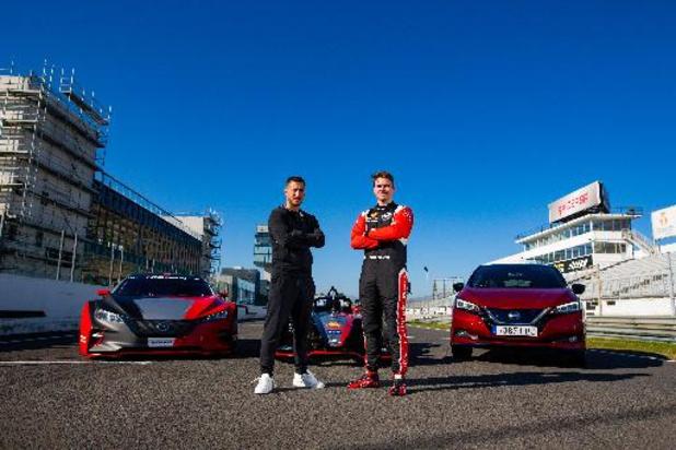 Eden Hazard test Nissan Leaf Nismo RC