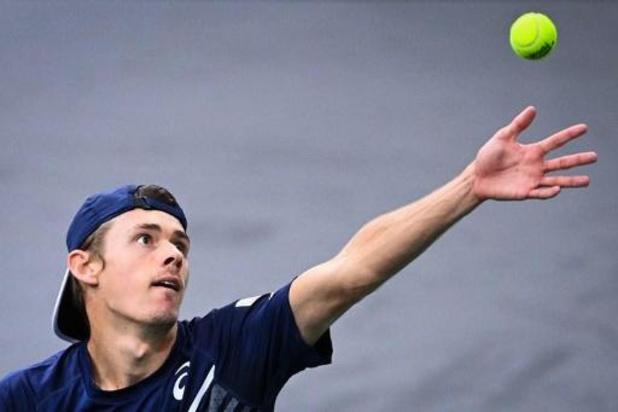 Victoire du tournoi ATP en finale d'Alex de Minaur après le rapide abandon d'Alexander Bublik