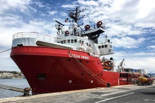 Ocean Viking redt migranten voor kust van Libië