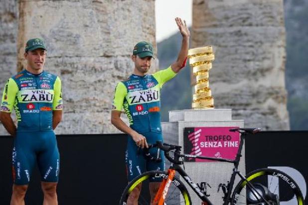 UCI schorst Matteo De Bonis en zijn team Vini Zabu na positieve dopingtest