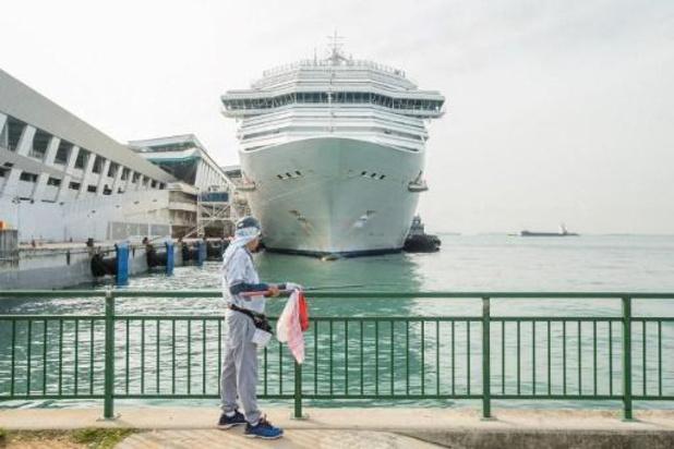 Un bateau de croisière italien confine ses 700 passagers