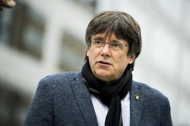 Le parquet de Bruxelles a reçu le mandat d'arrêt européen visant Puigdemont